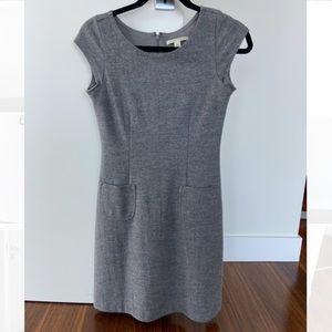 Banana republic - Grey wool dress